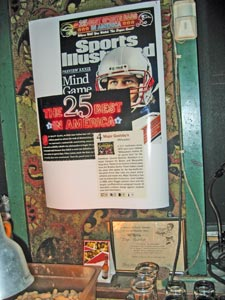 Yes, it's true. Major Goolsby's was named No. 4 in Sports Illustrated's Top 25 Sports Bars in America.
